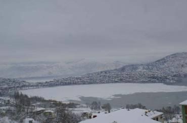 Η χιονισμένη Καστοριά ανήμερα της Υπαπαντής του Κυρίου μας Ιησού Χριστού