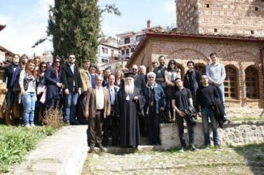 Φοιτητές της Θεολογικής Σχολής Θεσσαλονίκης στην Καστοριά