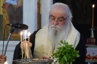 Αρχιερατικός Εσπερινός στο Ιερό Παρεκκλήσιο Αγίας Παρασκευής (Ξενία)