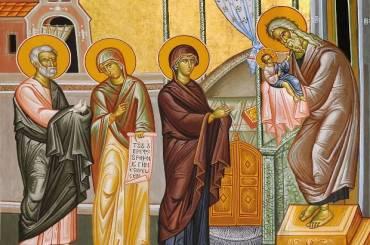 Η Αγρυπνία επί τη εορτή της Υπαπαντής του Σωτήρος Χριστού
