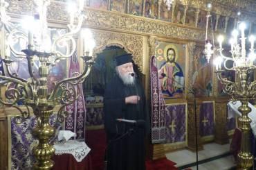 Ο Εσπερινός της Συγχωρήσεως στην Μητρόπολη Καστοριάς (ΦΩΤΟ)