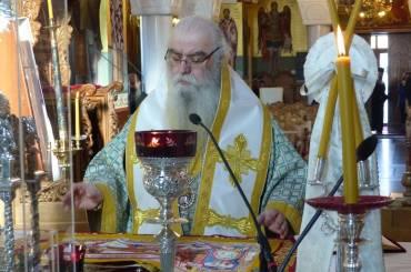 Ιερατική Σύναξη μηνός Μαρτίου στην Ιερά Μητρόπολη Καστοριάς (ΦΩΤΟ)