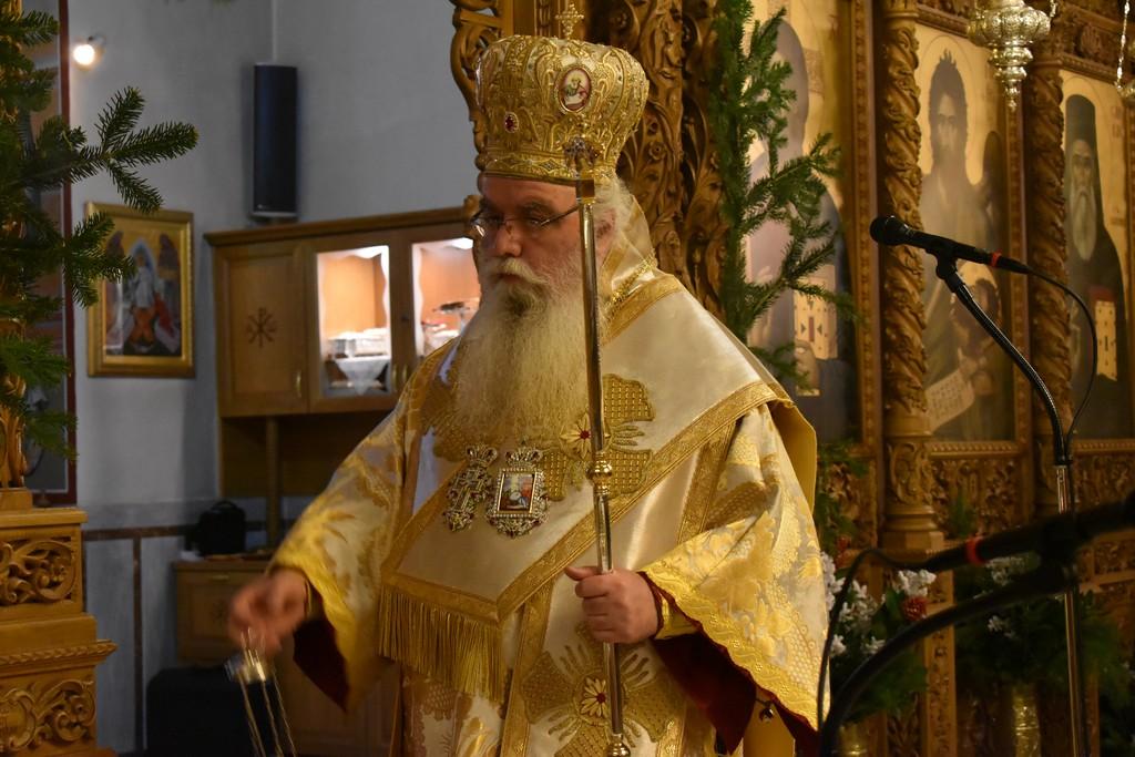 Κυριακή προ της Χριστού Γεννήσεως στην Ι.Μ. Καστορίας [ΦΩΤΟ]