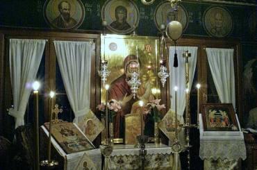 Αγρυπνία για την εορτή των Εισοδίων της Υπεραγίας Θεοτόκου [ΑΝΑΚΟΙΝΩΣΗ]