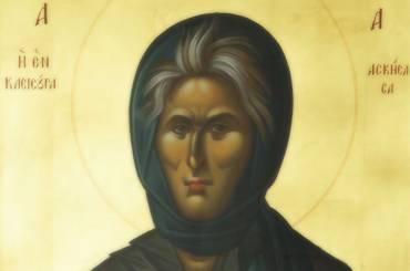 Ιερά Παράκληση στην Οσία Σοφία της Κλεισούρας σε ζωντανή μετάδοση